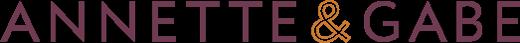 Annette and Gabe Logo