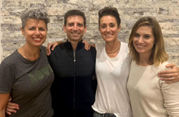 Gabrielle Caplice, Serge Benhayon, Annette Baker and Miranda Benhayon